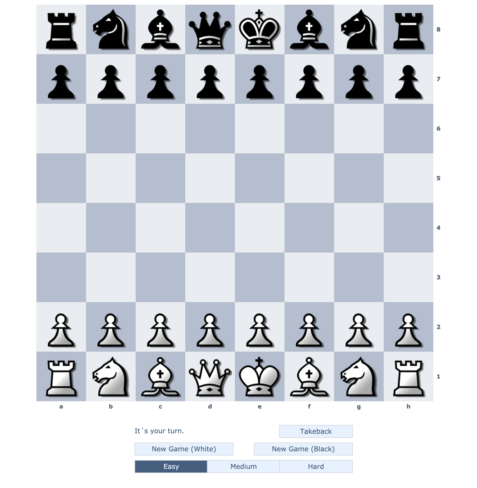 Play Chess Online Shredder Chess